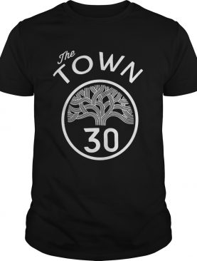 30 Stephen Curry The Town Blue Golden State Warriors shirt