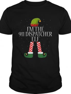 911 Dispatcher Elf Funny Christmas Elves shirt