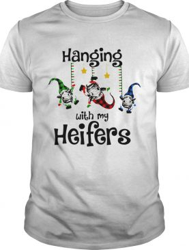 Cow Hanging With My Heifers Christmas shirt