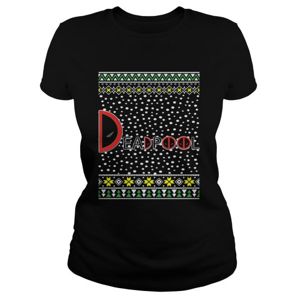 Deadpool Logo Ugly Christmas  Classic Ladies