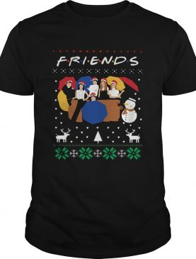 Friends TV Show Ugly Christmas shirt