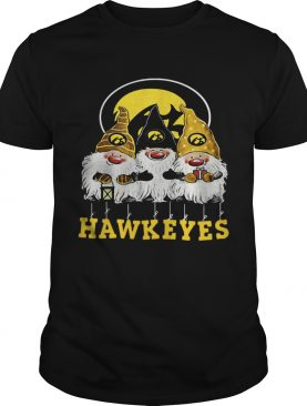 Iowa Hawkeyes Santa Chibi Christmas shirt