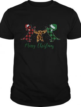 Merry Christmas Dachshund shirt