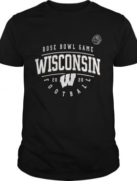 Wisconsin Badgers Football 2020 Rose Bowl Bound Tackle shirt