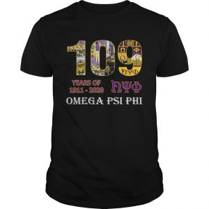109 Years Of Nyo 1911 2020 Omega PSI PHI  Unisex