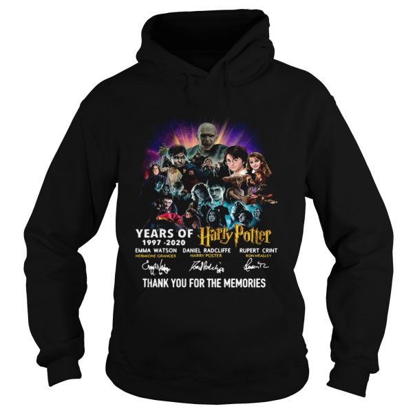 23 Years Of Harry Potter Thank You For The Memories  Hoodie