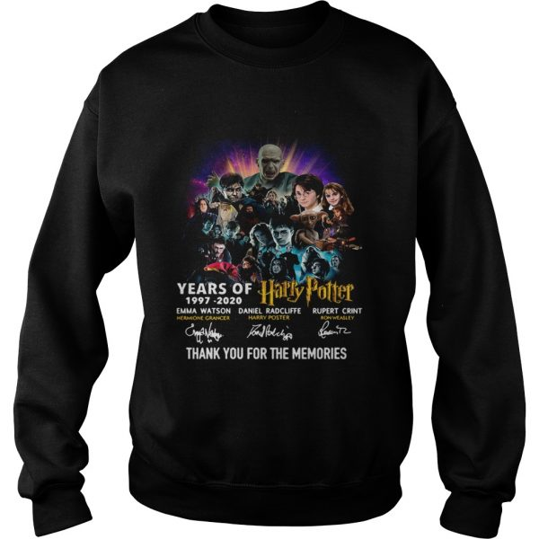 23 Years Of Harry Potter Thank You For The Memories  Sweatshirt