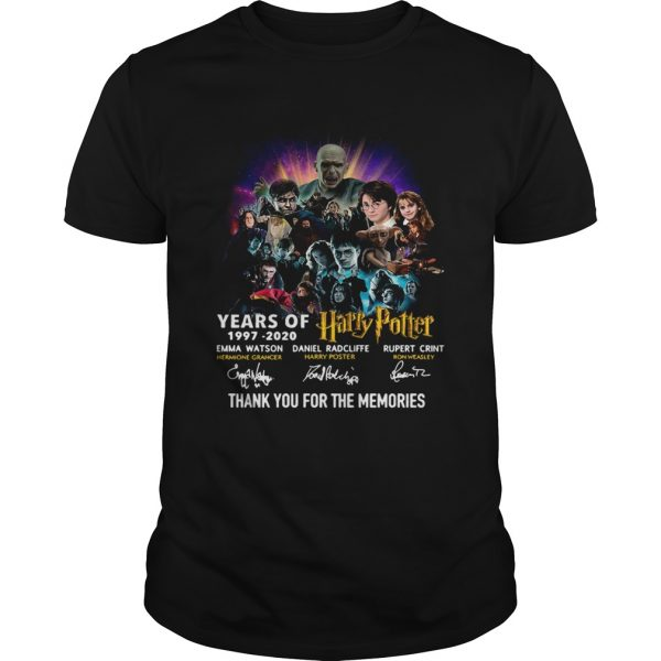 23 Years Of Harry Potter Thank You For The Memories  Unisex