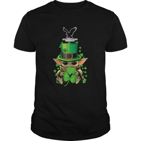 Baby Yoda American Eagle Outfitters Shamrock StPatricks Day  Unisex