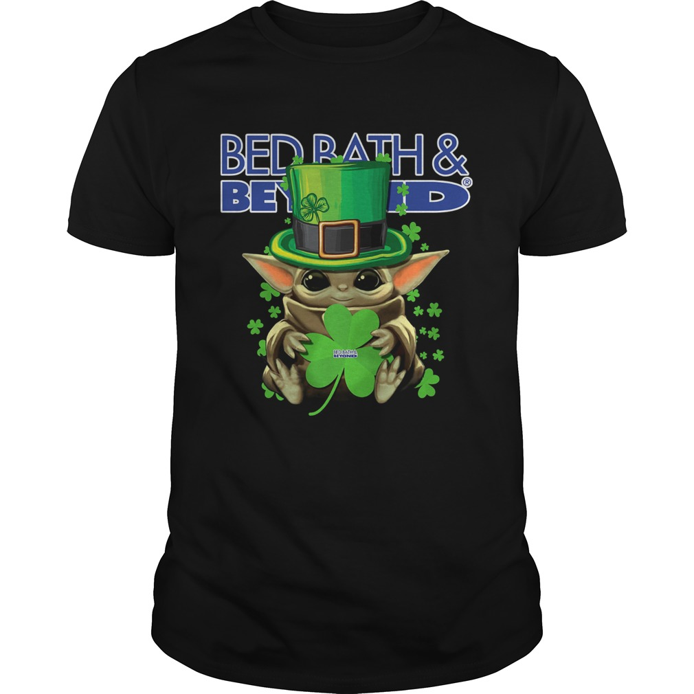 Baby Yoda Bed BathBeyond Shamrock StPatricks Day Unisex