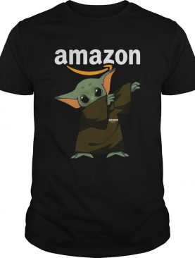 Baby Yoda Dabbing Amazon shirt
