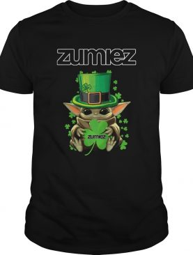 Baby Yoda Zumiez Shamrock StPatricks Day shirt