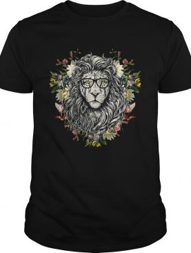 Flower Floral Roaring Lion Cool Casual shirt