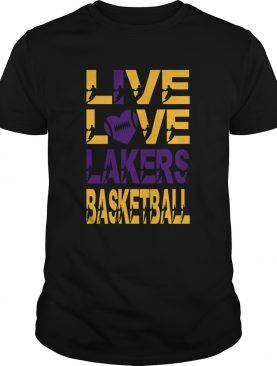Love Love Lakers Basketball shirt