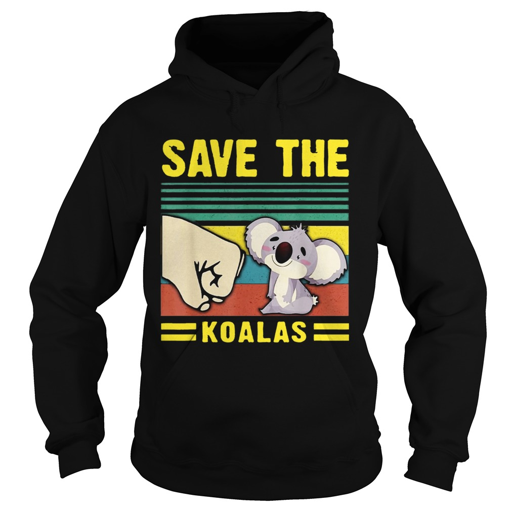 Save the Koalas VintageSave the Earth Hoodie