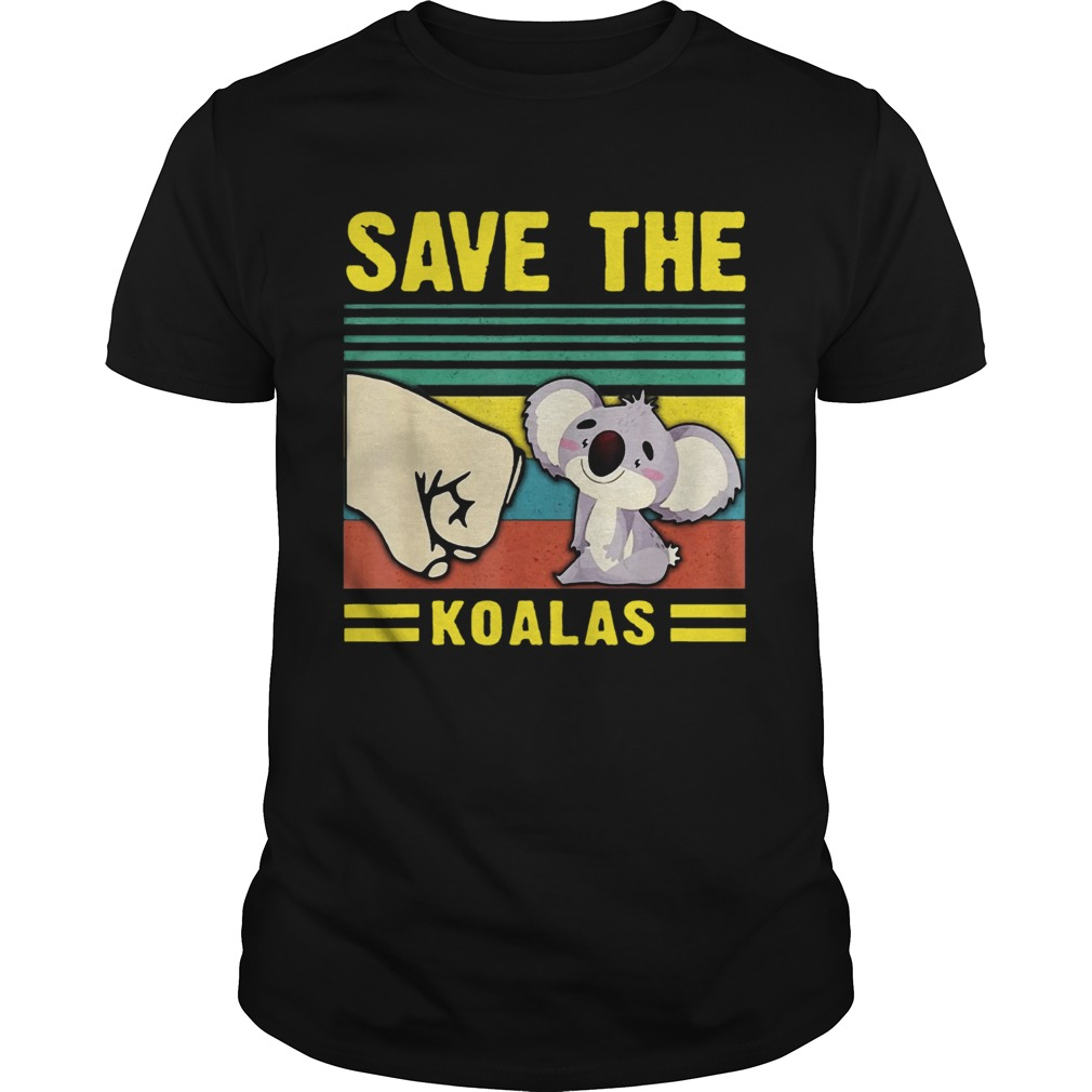 Save the Koalas VintageSave the Earth Unisex