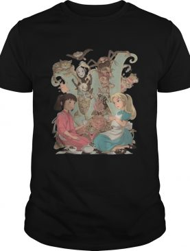 Spirited Away Characters Poster shirt