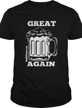 St Patricks Day Beer Great Again shirt