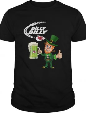Uncle Sam Dilly Dilly Kansas City Chief St Patricks Day shirt