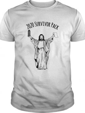 2020 Survivor Pack Jesus Hold Disinfectant And Toilet Paper shirt