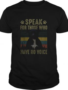 American Bully speak for those who have no voice vintage shirt