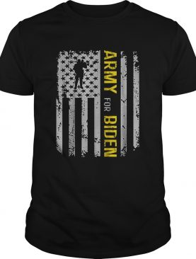 Army Election For Biden USA Army Vintage shirt