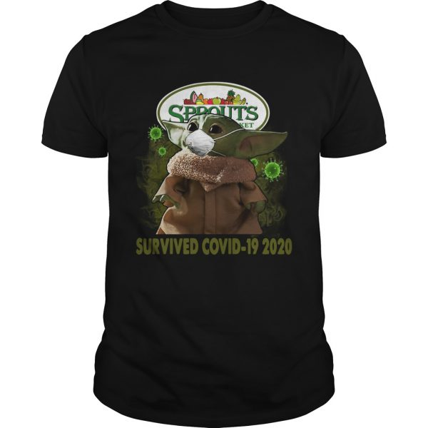 Baby Yoda Sprouts Farmers Market Survived Covid 19 2020  Unisex