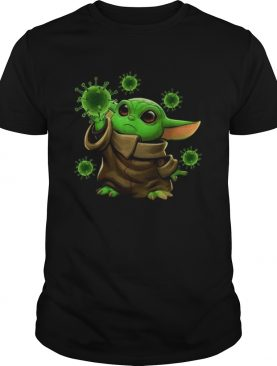 Coronavirus Merch Baby Yoda shirt