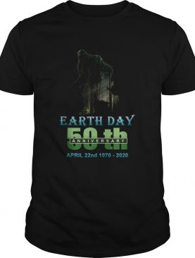 Earth Day 50th Anniversary Bigfoot Silhouette Bigfoot shirt