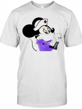 Mickey Mouse Strong Nurse T-Shirt