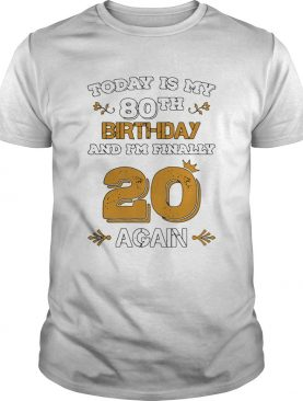 15857965132020 Leap Year Birthday 80 Years Old Leapling shirt
