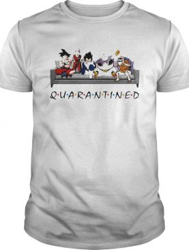 Dragon Ball In Sofa Stay Home Quarantined shirt