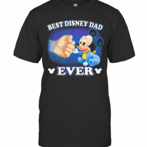 A Beautiful Cooler And Pretty Mickey Mouse Best Disney Dad Ever T-Shirt Classic Men's T-shirt