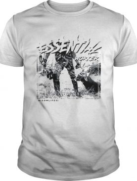 Bow life essential worker shirt