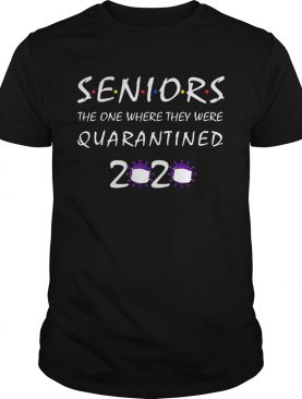 Class Of 2020 Graduation Senior Funny Quarantine shirt