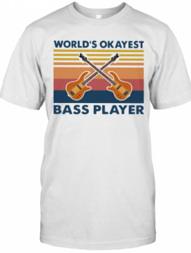 Guitars World's Okayest Ball Player Vintage T-Shirt