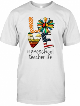 Love #Kindergarten Teacherlife T-Shirt