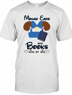 Mickey Mouse Ears And Books Kind Of Girl T-Shirt