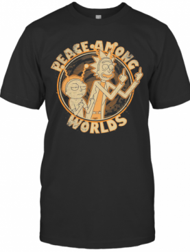 Rick And Morty Peace Among Worlds Vintage T-Shirt