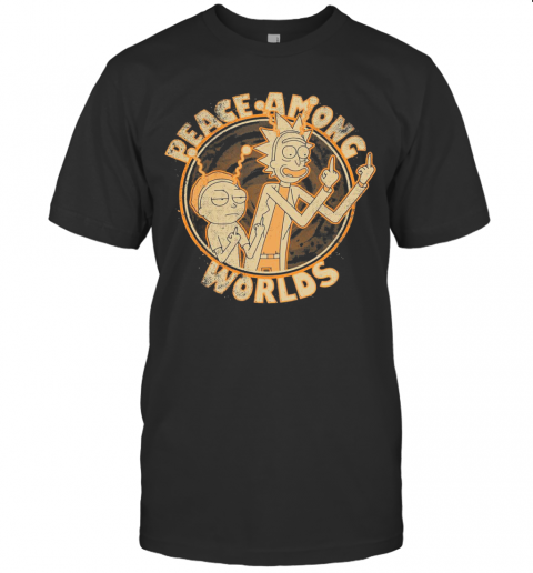 Rick And Morty Peace Among Worlds Vintage T-Shirt Classic Men's T-shirt