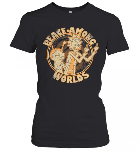 Rick And Morty Peace Among Worlds Vintage T-Shirt Classic Women's T-shirt