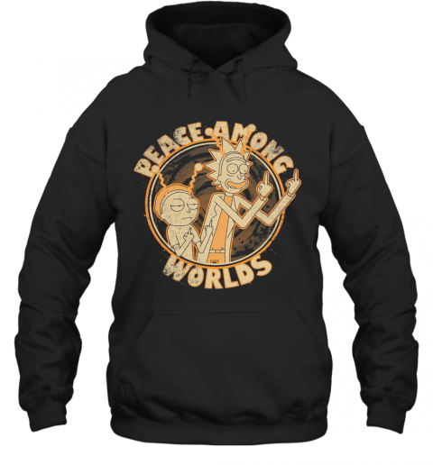 Rick And Morty Peace Among Worlds Vintage T-Shirt Unisex Hoodie