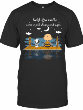 Snoopy And Peanut Best Friends Come In All Shapes And Sizes T-Shirt