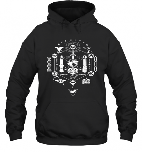 Zack Snyder All The Gods T-Shirt Unisex Hoodie