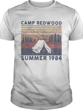 Camp redwood summer 1984 vintage retro shirt
