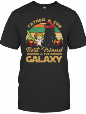 Father And Son Best Friend In The Galaxy Vintage T-Shirt