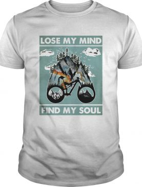 Lose My Mind Find My Soul Cycling shirt