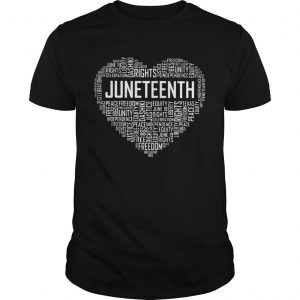 Love rights juneteenth heart  Unisex