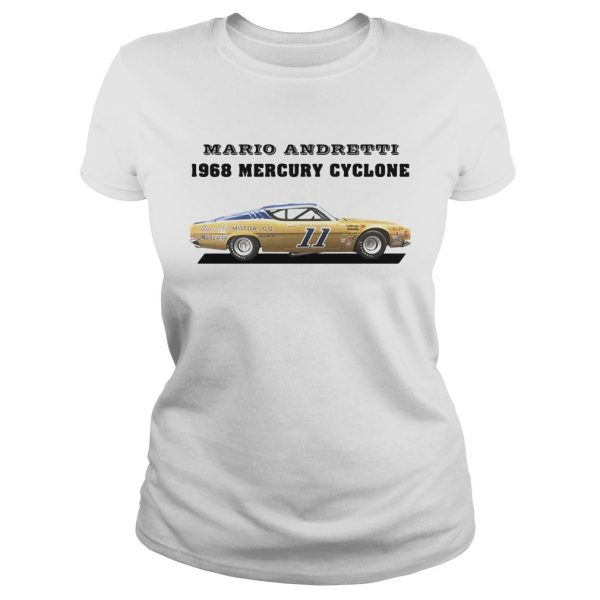 Mario andretti racing athletes 1968 mercury cyclone  Classic Ladies