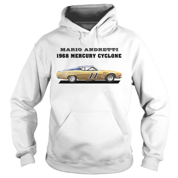 Mario andretti racing athletes 1968 mercury cyclone  Hoodie